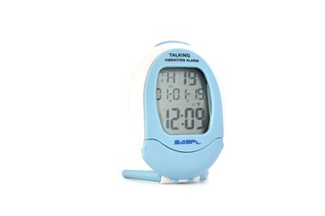 Talking Vibrating Alarm Clock, Timer and Calendar