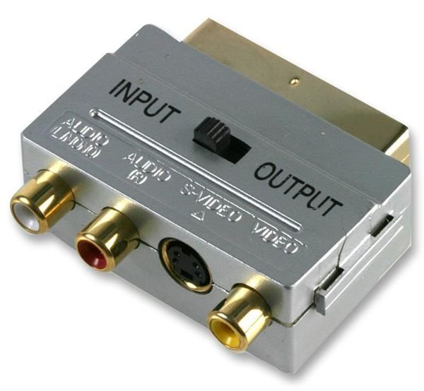 Scart to Phone Connector