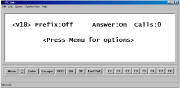Text PC Link programme