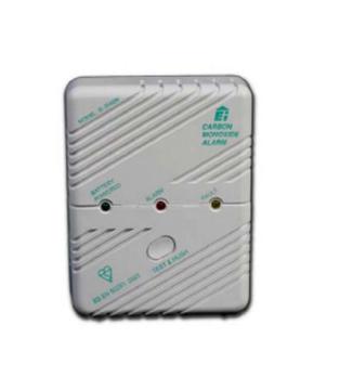 Silent Alert Carbon Monoxide Detector